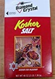 Diamond Crystal KOSHER SALT - 1 box, 3 lb