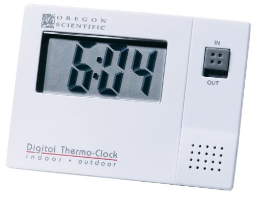 Oregon Scientific NAW881 Indoor Outdoor Digital Thermometer with clockB00006J03P