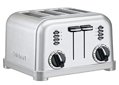 Cuisinart CPT-180FR 4-Slice Metal Classic Toaster (Certified Refurbished) from Cuisinart