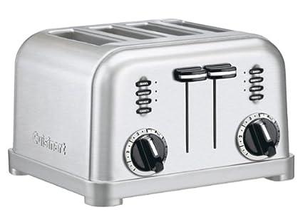 Cuisinart CPT 180 Metal Classic 4 Slice Toaster