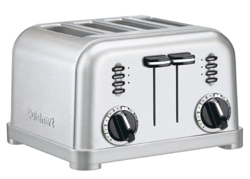 Cuisinart CPT-180 Metal Classic 4-Slice Promo Offer
