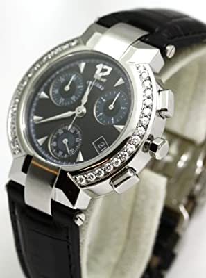 Concord La Scala Chronograph with Diamond Bezel Men's Watch