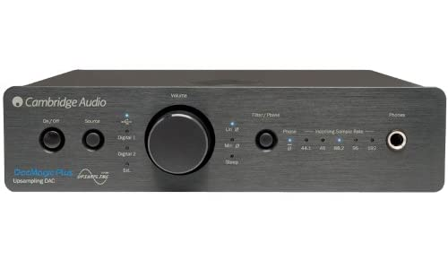 Cambridge Audio DacMagic Plus [Black] ケンブリッジオーディオ USB入力対応 D/Aコンバーター