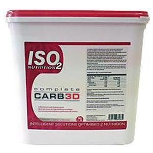 ISO2 Nutrition Complete Carb3d 5000 g Orange Performance and Recovery Drink Powder
