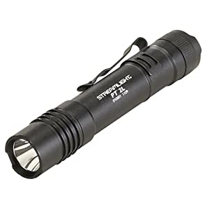 Streamlight 88031 Protac Tactical Flashlight 2L with White LED Includes 2 CR123A Lithium Batteries and Nylon Holster, Black