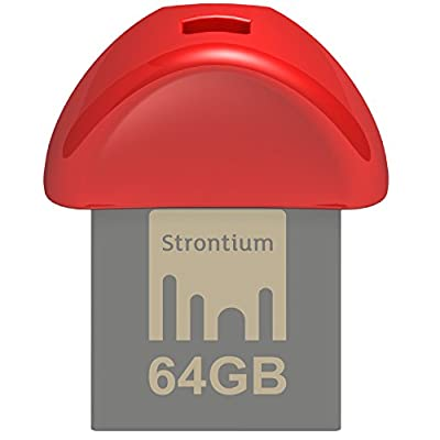 Strontium Nitro Plus Nano 32GB USB 3.0 Pen Drive (Red)
