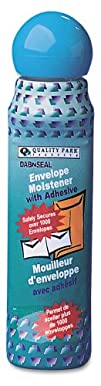 Quality Park Dab-n-Seal Envelope Moistener 50 ml 1 Bottle 46065