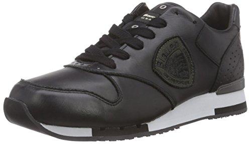 Blauer USARUNORI/LEA - Sneaker uomo , Nero (Nero (nero)), 41