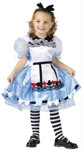 Costumes For All Occasions FW118791TS Alice Toddler 3T-4T