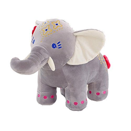 Cute Elephant Doll Creative Toys Plush Stuffed Toy Baby Birthday Gift Furniture Decoration 11.8
