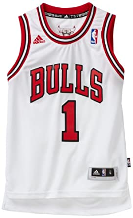 NBA Chicago Bulls Derrick Rose Swingman Home Jersey - R28E1Bb5 Youth by adidas