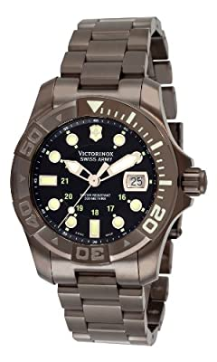 Victorinox Swiss Army Men's 241429 Dive Master 500 Black Ice Black Dial Watch by Victorinox Swiss Army