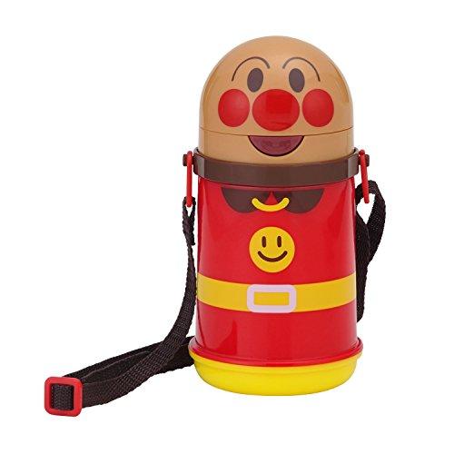 レック アンパンマン ストロー付き 水筒 (保冷 ・ ダイカット)