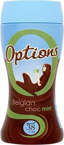 Optionen Belgischer Schokolade Minze Instant Heiße Schokolade Trinken (220G)