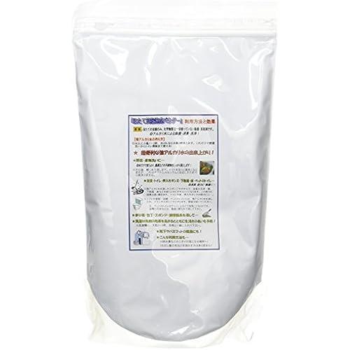 호타테노 오쿠리모노 가리비조개의 선물 호타테 껍질파우더 가리비세제 천연세제 과일세척 과일 야채 세정 알카리수 농약제거 가리비 껍질 파우더02 리필용 1kg