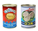 ロコ貝水煮 ★3粒/缶詰【ちりあわび水煮 やわらか煮、姿煮貝】チリ産業務用
