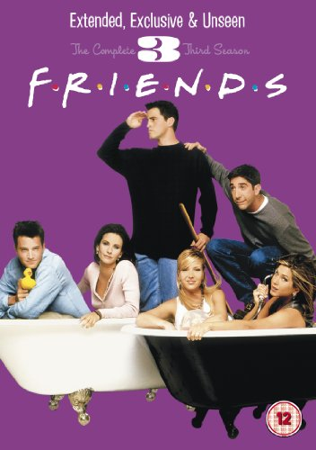 Friends Season 3 - Extended Edition [DVD]