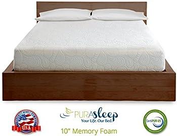 PuraSleep 10 Inch Foam Mattress