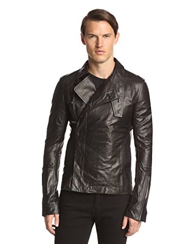 Rick Owens Men's Zipped Leather Bomber