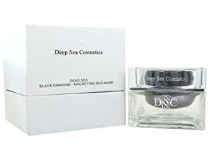 Deep Sea Cosmetic Dead Sea DSC Black Diamond - Magnetism Mud Mask