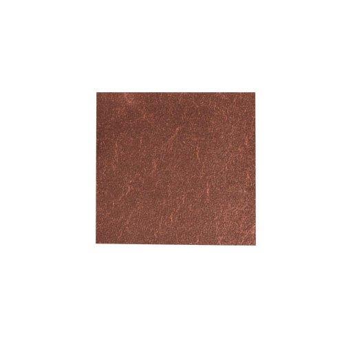 カラー純銀箔 #619 茶色 3.5㎜角×5枚