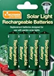 AA Solar Light Rechargeable Batteries...