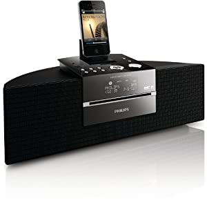 Philips DCB352 - Sistema de sonido (CD, USB) con base para iPhone/iPad/iPod