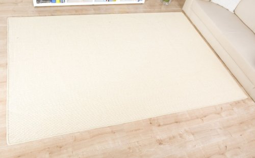 Havatex: Sisal Teppich Trumpf creme / Geprüfte Qualität / Flormaterial: 100 % Sisal / In verschiedenen Größen erhältlich