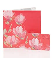 Pink Floral Gift Card