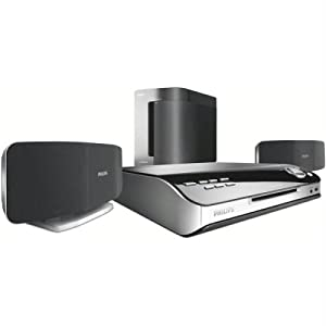 Philips 2.1 500Watt 1080I DVD Home Theatre System HTS6500/37 (Discontinued by Manufacturer)