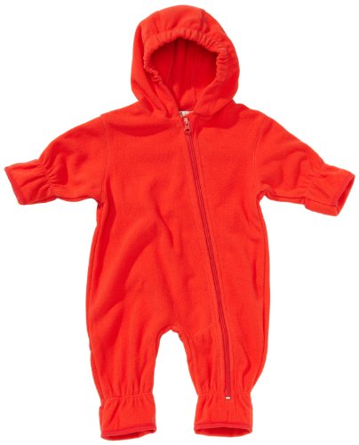 Playshoes Unisex - Baby Overall Fleece-Overall von Playshoes, Art. 421002, Gr. 74, Rot (8 rot)
