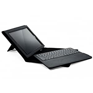Cygnett Lavish Folio Case with Integrated Stand and Bluetooth Keyboard for Apple iPad 2/3/4 (Black)