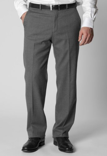 Brook Taverner Chertsey Trousers in Light Grey 32L