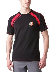 SRFC Stade Rennais T-shirt Logo Manche courte homme Noir/Rouge S