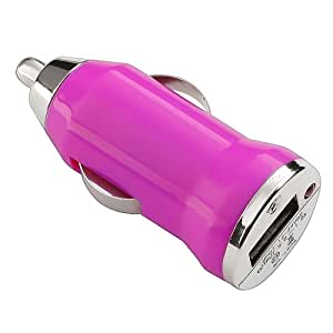 DragonPad USB Car Charger Vehicle Power Adapter - Hot Pink for Apple iPhone 4 4G 16GB / 32GB 4th Generation