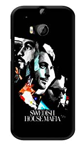 """Humor Gang Swedish House Mafia Posterized Printed Designer Mobile Back Cover For """"HTC ONE M8 - HTC ONE M8S"""" (3D, Glossy, Premium Quality Snap On Case)"""