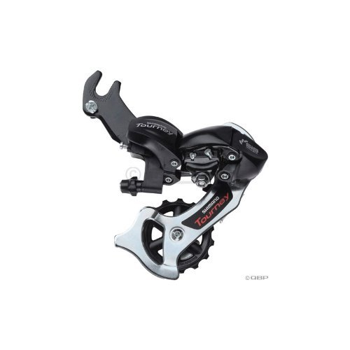 Buy Low Price Shimano RD-TX31 Tourney 6/7-Speed Rear Derailleur with Hanger, Black (ERDTX31B)