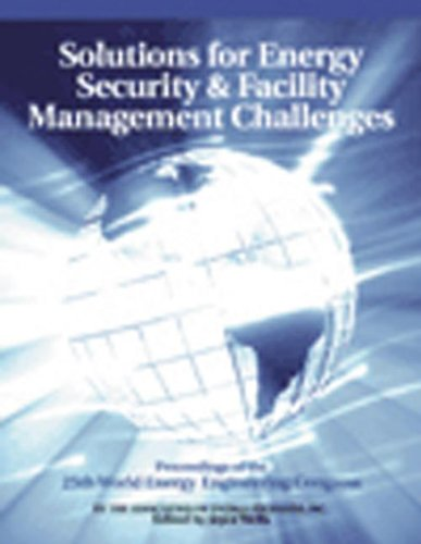 Solutions For Energy Security And Facility Management Challenges: Weec Proceedings