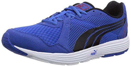 Puma Descendant v2, Herren Hallenschuhe, Blau (10 strong blue-black-red), 46 EU (11 Herren UK)