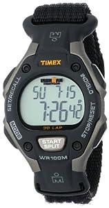 Timex Women's T5K2689J Ironman Traditional 30-Lap Black Fast Wrap Strap Watch