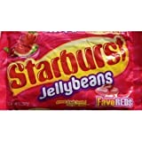 Starburst Fave Reds Jelly Beans, 14-ounce Bag