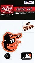 Rawlings Sporting Goods MLBDC Decal Kit, Baltimore Orioles