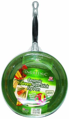 Telebrands  Orgreenic Frying Pan, 10 ""