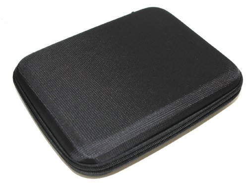 i.Trek Hard Shell Case for Tablet and GPS Devices (Black)
