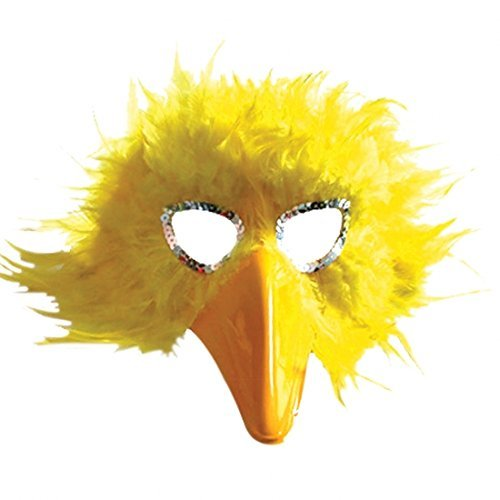 bird-eye-mask-with-beak-for-masquerade-fancy-dress-accessory-yellow-by-pams