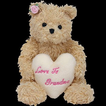 1 X TY Beanie Baby - DEAR HEART the Bear (Hallmark Gold Crown Exclusive) - 1