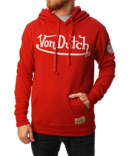 von-dutch-mens-logo-pullover-hoodie-medium-red