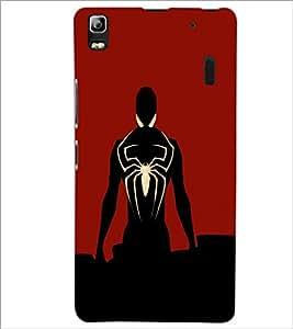 PrintDhaba Spiderman D-3205 Back Case Cover for LENOVO A7000 (Multi-Coloured)