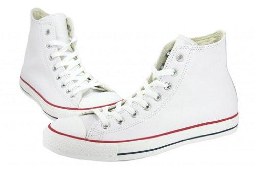Converse Unisex Chuck Taylor Classic Hi White Sneaker - 5 Men - 7 Women