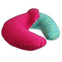 NurSit Nursing Pillow with Removable Blue Slipcover from NURSB